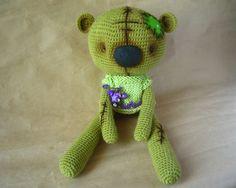 #crochet #bear #teddy bear