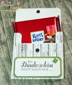 Blumis kreativ Blog: Ritter Sport zum Vatertag