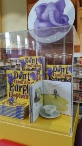 Dont Think About Purple Elephants display