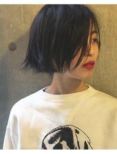 ビビト(bibito) bibito 切りっぱなし 艶髪 WETボブ