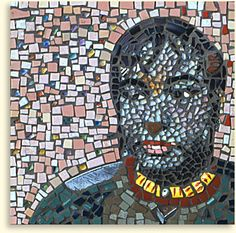 Bettye -- Mixed media mosaic