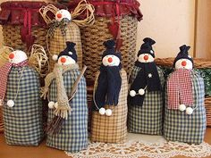 My toys: Snowman. Patterns.Snegovik. Patterns.