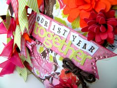 """""""Our 1st Year Together"""" mini album by Basically Bare designer Emily Lanham (Lots more pics on the blog post!)"""