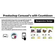 <p>Buy Prestashop Pack (Prestashop carousel new products featured products… Color Editor, Book Catalogue, Carousel, Books Online, Best Sellers, Design, Products, Carousels, Carousel Horses
