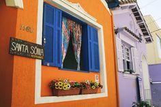 Janelas coloridas e estilosas - Jeito de Casa