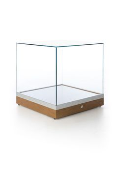 Glass Display Case Cube 20 Inch Subastral
