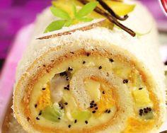 «Împăturită» cu vanilie My Recipes, Hummus, Gem, Pudding, Baking, Cake Rolls, Sweet, Ethnic Recipes, Desserts