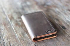 iPhone 6 Leather Wallet Case PERSONALIZED- iPhone 6 PLUS Wallet Case, Also Available iPhone 5 Leather Case, Wallet, Gift - Listing [005] by JooJoobs on Etsy https://www.etsy.com/listing/233090619/iphone-6-leather-wallet-case