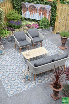 Terrace Tiles, Garden Tiles, Patio Tiles, Outdoor Tiles, Outdoor Flooring, Outdoor Spaces, Patio Design, Tile Design, Ideas Terraza