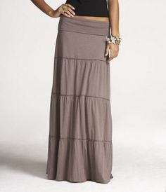 Love this skirt...when the next baby comes I am so wearing this instead of uncomfortable jeans.