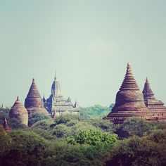 Bagan Temples by Sy Smith  #Burma #Myanmar #Bagan #Temples #Travel #travel #traveling #vacation #visiting #instatravel #instago #instagood #trip #holiday #photooftheday #fun #travelling #tourism #tourist #instapassport #instatraveling #mytravelgram #travelgram #travelingram #igtravel