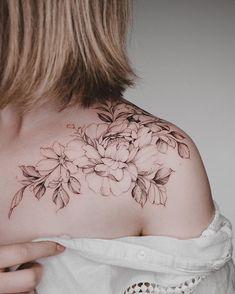 Flew from Sydney just to get her first 🙏🏼🌿🌸 Bild Tattoos, Neue Tattoos, Body Art Tattoos, Small Tattoos, Tatoos, Wrist Tattoos, Couple Tattoos, Tattoos For Guys, Back Tattoo