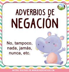 fichas adverbios p8 Spanish Grammar, Spanish Teacher, Teaching Spanish, Spanish Language, Teaching Resources, Spanish Classroom Activities, Bilingual Classroom, Spanish Lessons Online, Dual Language Classroom