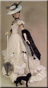 Crawford Manor Collections Page Victorian Gown, Victorian Dolls, Victorian Fashion, Madame Alexander, Vintage Barbie, Vintage Dolls, Ooak Dolls, Art Dolls, Moda Barbie