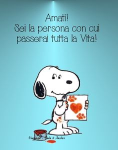 #autostima #amore #snoopy - Frasi Famose su http://www.Messaggi-Online.it