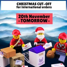 Make your final choices! Final call for #personalisedgifts delivered internationally. #Christmas cut-off is tomorrow, at midnight GMT. All international orders placed after this time will arrive after Christmas. For full details and delivery times, check out this link: After Christmas, Christmas Delivery, Christmas Morning, Christmas 2019, Personalised Keyrings, Personalized Gifts, Lego Minifigure Display, Mini Office, Post Time