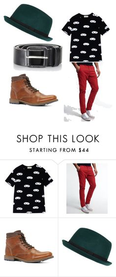 """""""joeys day outfit"""" by maydoll on Polyvore featuring Maison Kitsuné, Superdry, ALDO, River Island, Diesel, men's fashion and menswear"""