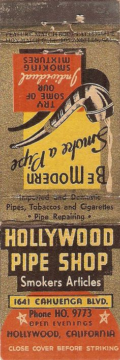 Hollywood Pipe Shop | by StrikerChick
