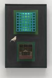 Parviz Tanavoli 'Cage, cage, cage', 1966 (repaired 2009) © Parviz Tanavoli