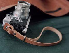 Handmade Leather Camera Wrist Strap