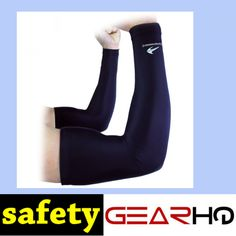 Arm Sleeves (1 Pair/ Black - XL) Compression - Men, Women & Youth Basketball Shooter Sleeve - Best Protection for Lymphedema - Elbow Warmers for Football, Baseball, Running, Volleyball & Athletic Sports http://www.safetygearhq.com/product/personal-safety/knee-elbow-protection/arm-sleeves-1-pair-black-xl-compression-men-women-youth-basketball-shooter-sleeve-best-protection-for-lymphedema-elbow-warmers-for-football-baseball-running-volleyball-athletic-spor/