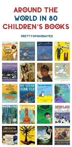 Take your kids on a literary adventure with Around The World in 80 Children's Books! Check out 80 books from or about 80 different countries!