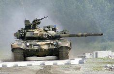 Russian T series tank...maybe T90?