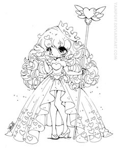 Queen of Hearts February Contest Lineart by YamPuff.deviantart.com on @deviantART
