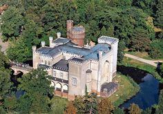 Kórnik Castle (Polish: Zamek w Kórniku or Zamek Kórnicki) was constructed in the 14th century.