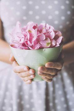 bowls of petals