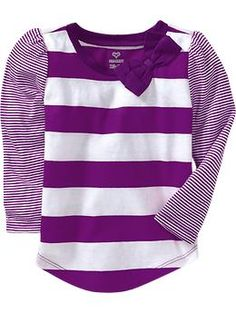 Big-Bow Long-Sleeve Tees for Baby | Old Navy $8.00 Doc McStuffins costume