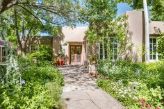 View this luxury home located at 1243 Canyon Road Santa Fe, New Mexico