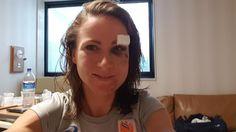 Ciclismo nas Olimpíadas: Ciclista holandesa posta selfie em hospital após acidente impressionante