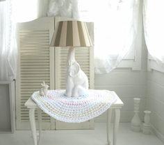 ~○~  Vintage, Elefant, Lampe   ~○~ von Weidenröschen auf DaWanda.com