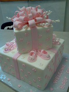 Baby shower cake..