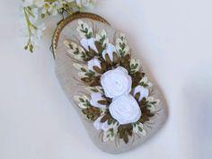 Embroidery Purse, Fasion, Napkin Rings, Bag, Decor, Decoration, Fashion, Decorating, Bags