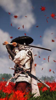 Japanese Drawings, Japanese Art, Samurai Wallpaper, Character Art, Character Design, Samurai Artwork, Ninja Art, Japanese Warrior, Game Art