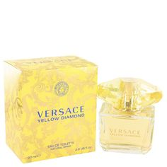 Versace Yellow Diamond Perfume for Women by Versace - 3 Oz EDT