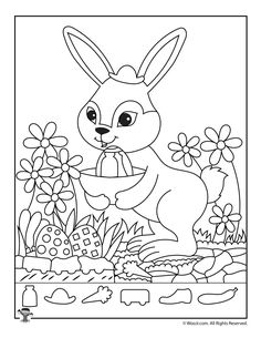 Easter Hidden Pictures Printable Activity Pages Easter Bunny Hidden Picture Activity Page Printable Activities For Kids, Easter Activities, Hidden Picture Puzzles, Critical Thinking Activities, Paper Games, Hidden Pictures, Hidden Objects, Activity Sheets, Animal Design