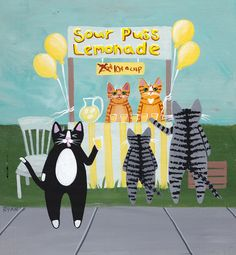 Lemonade Stand by Ryan Conners