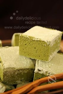Green tea marshmallow