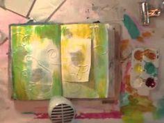 Paint technique video  donnadowney.typepad