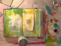Paint technique video  donnadowney.typepad