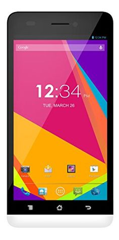 """Enjoy lighting #speeds with 4G LTE, #Studio 5.0 LTE is equipped with a large 5.0"""" HD display for viewing pleasure, powerful 1.2 GHz Quad core processing for fast ..."""