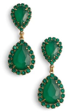 Crystal Drop Earrings LOREN HOPE | Nordstrom