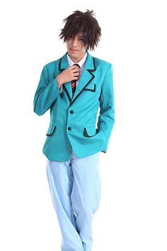 WS_COS Bakuman Cosplay Costume -BAKUMAN School Male Set -- Check this awesome product by going to the link at the image. Cosplay Costumes For Men, Costume Accessories, Children, Kids, Fashion Brands, Raincoat, Topshop, Image Link, Jackets