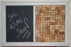 Wine+Cork+Board+and+Chalk+Board+by+TheWineThief+on+Etsy,+$45.00