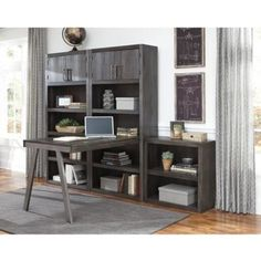 Signature Design Raventown H467 Large Bookcase Desk