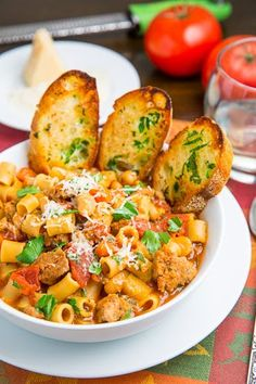 Pasta e Fagioli Soup (Italian Bean and Pasta Soup)
