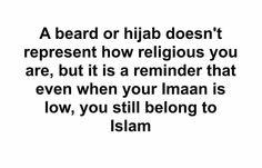 You still belong to Islam